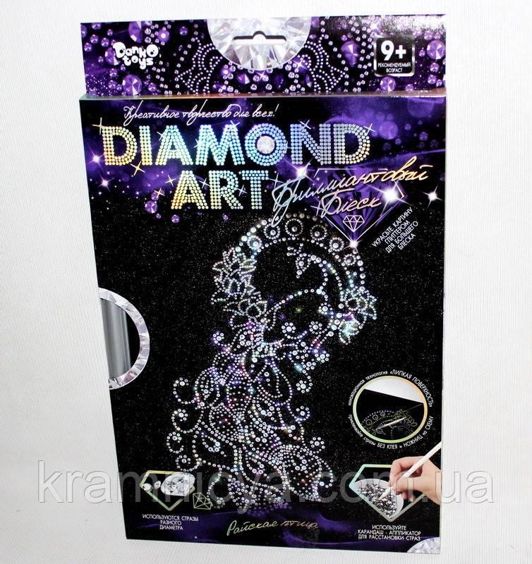 Алмазная живопись, Павлин (DAR-01-07), фото 1