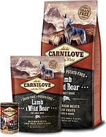 Сухой корм Carnilove Lamb & Wild Boar 12kg (д/взрослых собак с ягненком и диким кабаном)