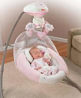 Укачивающий центр  или качели для новорожденных  Fisher Price Моя маленькая радость, фото 1