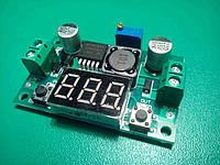 Понижающий преобразователь + вольтметр LM2596 2А DC-DC 1.4-36V, фото 1