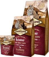 Сухой корм Carnilove Cat 6 kg Raindeer - Energy & Outdoor (для активных котов)