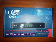 Спутниковый тюнер U2C Denys H.265(SAT+IPTV) прошитый с каналами