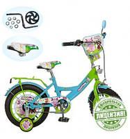 Велосипед 2-х колес детский Лунтик 12'' LT 0050-01