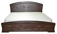 """Комфортная деревянная кровать """"Эмилия"""", фото 1"""