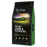 Profine ADULT LAMB & POTATOES 15кг- корм для взрослых собак с ягненком и картофелем