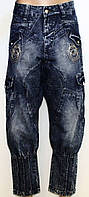 Капри джинсовые для женщин р. 27-33   арт. 988-1 - 29