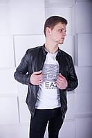 Мужская куртка Philipp Plein эко кожа