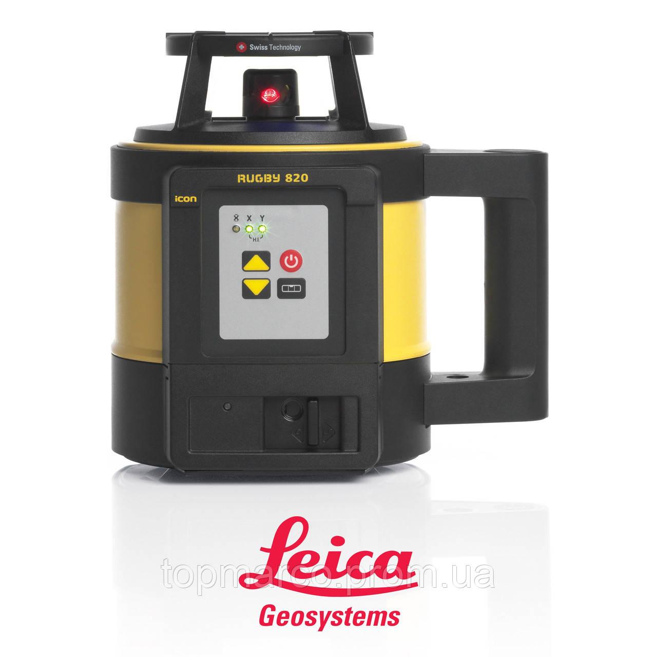 Лазерный нивелир Leica Rugby 820 RE160 + батарея