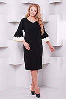 d7d7da2c4b3 Маленькое Черное Платье с Рукавом OLD-4236 — в Категории