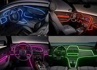 Звукочуствительная - подсветка салона авто!