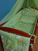 Детская постель в кроватку ТМ«ASIK» из 8 единиц №41