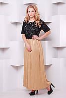 Платье Баден,коричневое (54-60)
