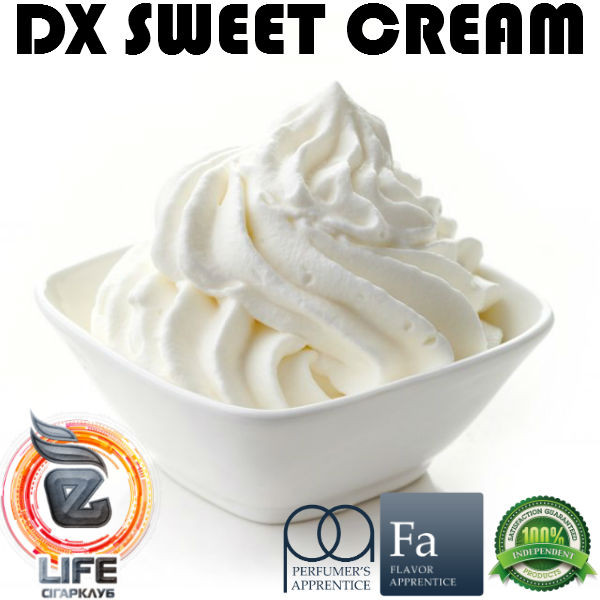 Ароматизатор TPA DX Sweet Cream Flavor (DX Сладкий крем)