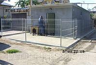 Забор из сварных панелей, сетка, забор из сварной сетки