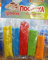 Набір посипок цукрових для кондитерських виробів у стіках Нонпарель