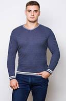 Мужской свитер . Джинс  ( M-44-46)