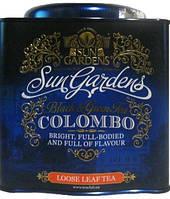 Чай Sun Gardens, 200 г Colombo Mix, железная банка