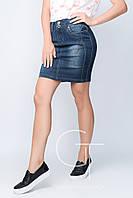 Элегантная джинсовая юбка с завышенной талией Freedom jeans 22906
