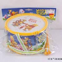 Барабан детский Винни Пух, 6610-11
