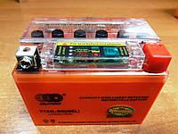 Аккумулятор 12v4a.h Гелевый оранжевый с индикатором  OUTDO, фото 1