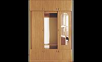 Шкаф для одежды в спальню, гостинную, прихожую с антресолью, раздвижной двухдверный, СП Нова 1,5м