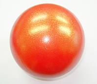 Мяч Pastorelli глиттер Rossarancio 18 cm Art. 00033