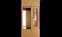 Шкаф для одежды в спальню, гостинную, прихожую с антресолью, раздвижной однодверный СП Нова 1,0м