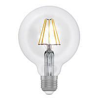 Светодиодная лампа ELECTRUM 8Вт D95 LG-6F E27 Теплый белый 2700К