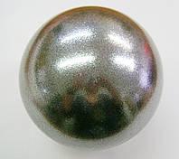 Мяч Pastorelli глиттер Nero Galaxy 18 cm Art. 00046 УЦЕНКА