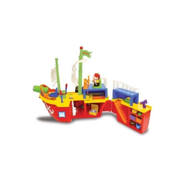 Пиратский корабль на колесах игровой набор Kiddieland