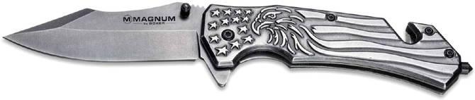 Стильный туристический нож Boker Magnum Freedom Folder 2373.05.78