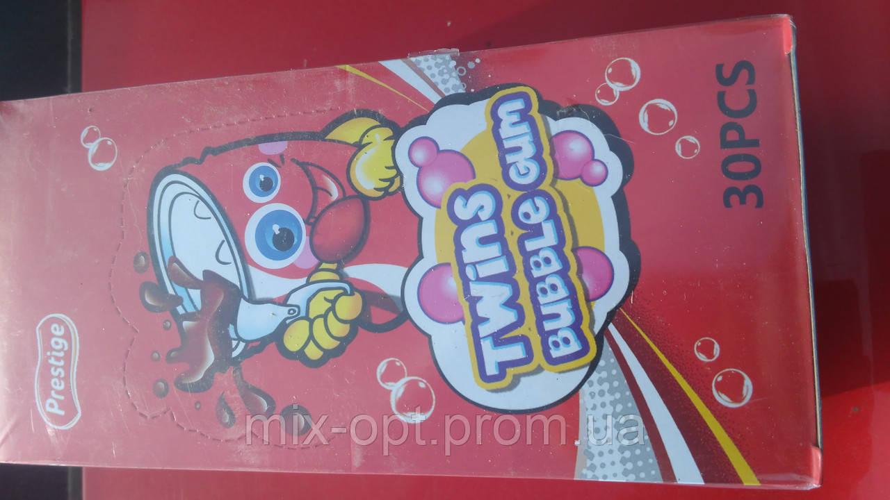 Жевательная резинка Twins Buble Gum 30 шт (Китай), фото 1