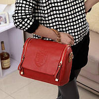 Женская сумка через плече Красная