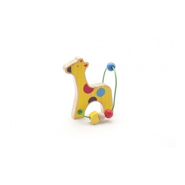 Лабиринт с бусинками Жираф