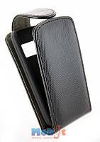 Чехол-книжка для Nokia C6-01 черная рептилия Chic-Case