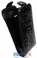 Чехол-книжка для Nokia C6-01/р2 черная крокодил SW