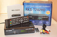 DVB-T2 Тюнер (ресивер) Т2 ROKS RKS-T202HD AC3 Dolby Digital