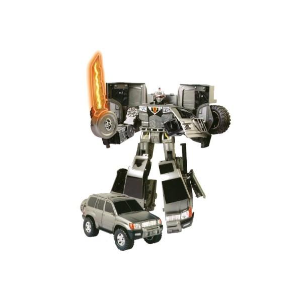 Робот-трансформер - TOYOTA LAND CRUIZER размер модели 1:18
