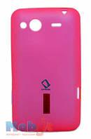 Силиконовый чехол для HTC Salsa c510e (G15) розовый CapDase
