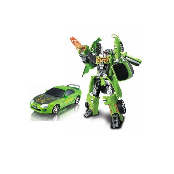 Робот-трансформер - TOYOTA SUPRA размер модели 1:32