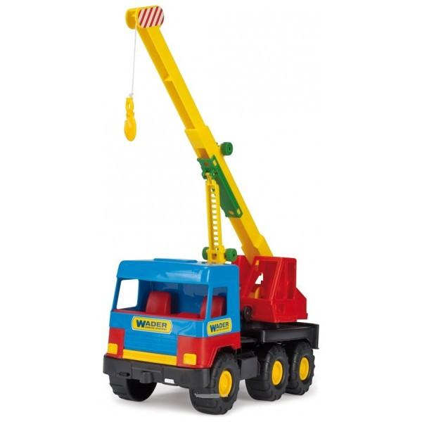Кран -игрушечная машинка