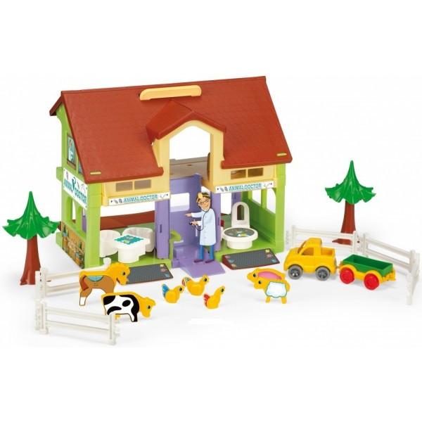 Набор игровой домик ветеринара