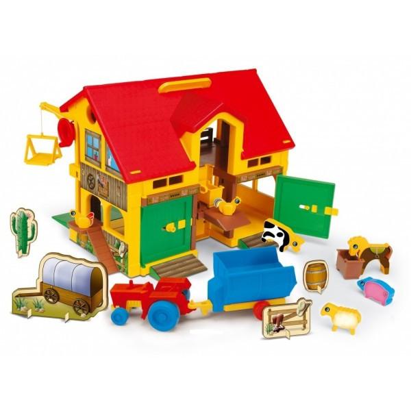 Набор игровой домик-ферма