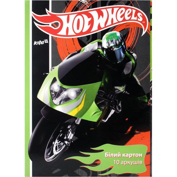Картон белый двухсторонний Hot Wheels 10 листов