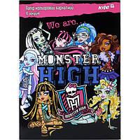 Цветная бумага бархатная Monster High