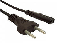 Сетевой кабель Cablexpert PC-184/2, 1.8м., к аудио-видео техники