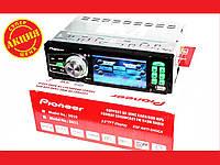 Автомагнитола Pioneer 3611 Green c экраном 3.6 дюйма + USB, фото 1