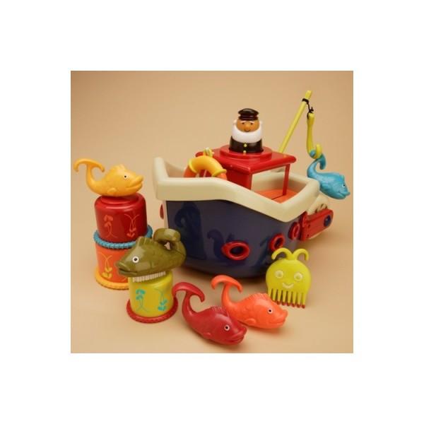 Игровой набор для игры в ванной Ловись рыбка
