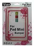 Чехол-бампер для iPad mini TPU red
