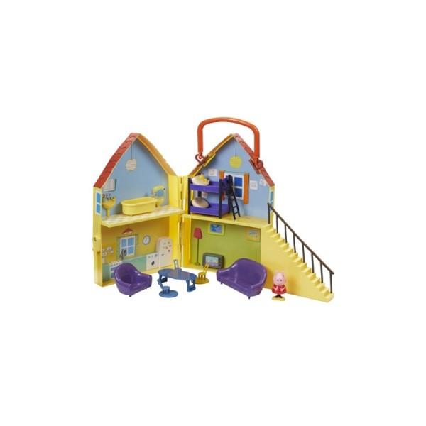 Игровой набор Peppa Дом Пеппы (домик с мебелью, фигурка Пеппы)